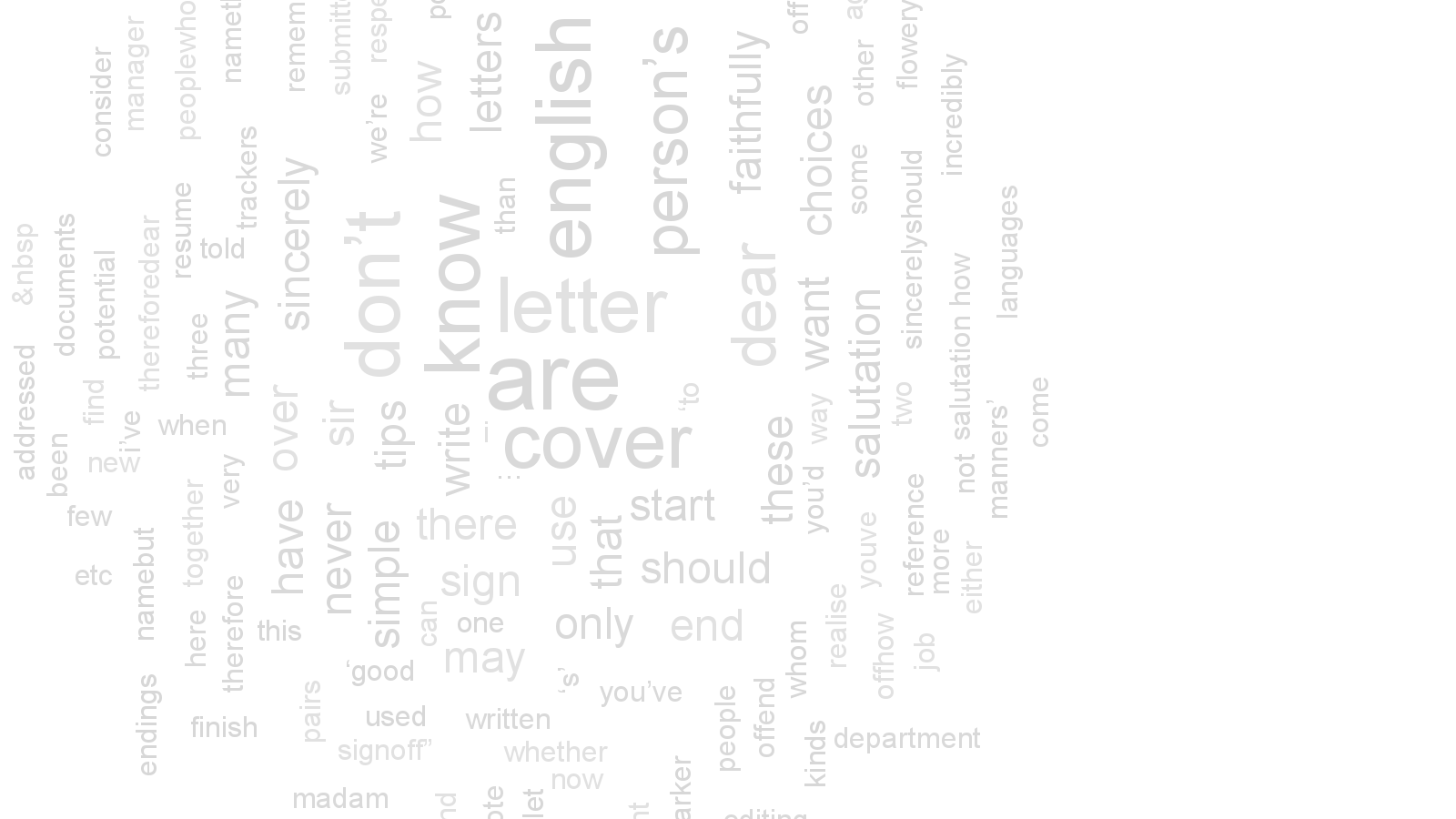 How to start and end a cover letter english editing blog spiritdancerdesigns Gallery