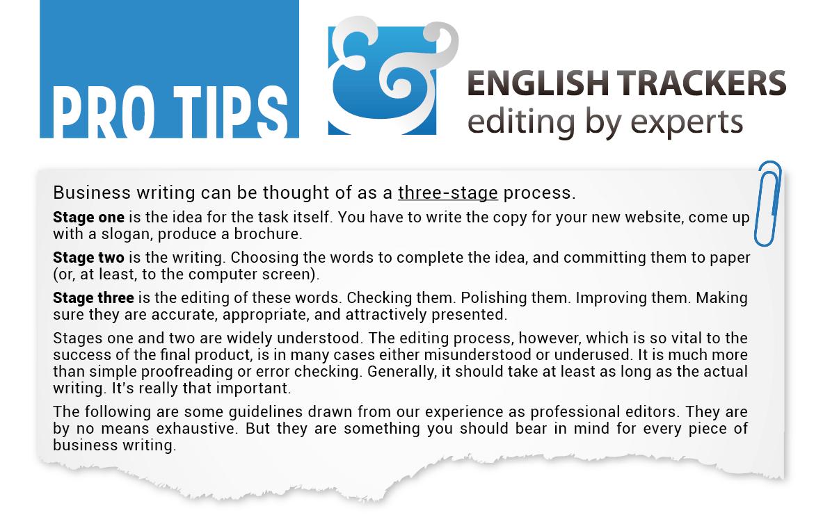 English essay editing