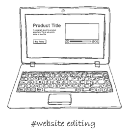 #website editing
